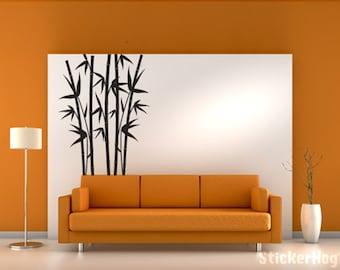 Vinyl Wall Art Decal Sticker Bamboo Tree 42x70 Part 56