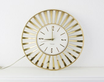 Electric Wall Clock Etsy