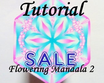 Polymer Clay Cane Tutorial - TUTORIAL - Flowering Mandala 2