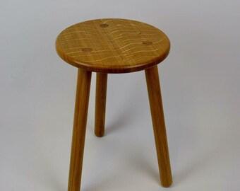 Stable Oak Stool / Table