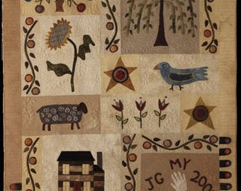 Quilt Applique Pattern - Things We Love