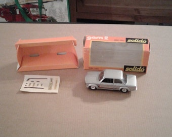 Solido No 28 BMW 2002 Turbo Coupe Mint with Box