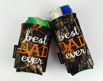 Dad- Gift- Daddy- Personalized- Father- Personalized CAN CUDDLER ®& free KOOZIE ® with purchase