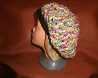 Awsome Granny Square Inspired Slouchy Beret