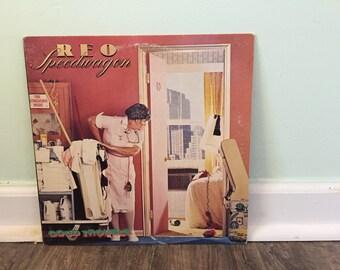 "REO Speedwagon ""Good Trouble"" vinyl record"