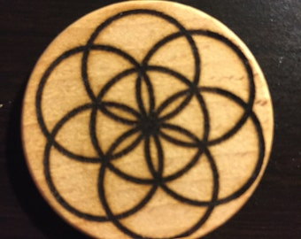 Seed of life magnet