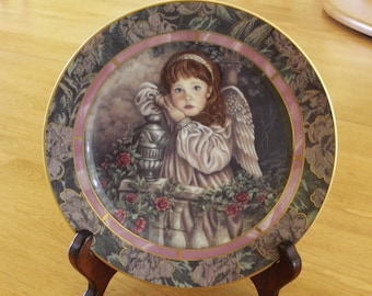 "Bradford Exchange Garden of Innocence Collection ""HOPE"" plate #19277A"