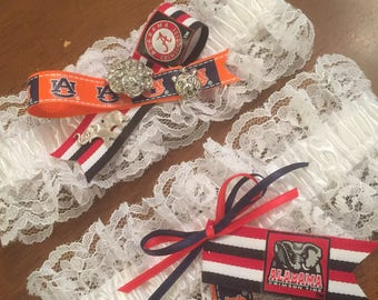 House Divided  2 pc. Garter Set style #2