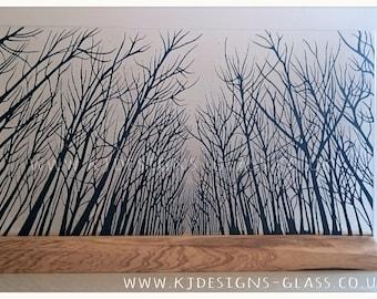 Large black forest
