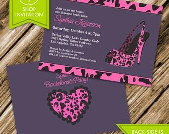 Bachelorette Party Invitation (Free Shipping)
