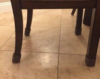 Chair leg floor protector socks set of 4