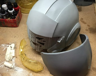 Raw Kit - Fan Made TFA X-Wing Pilot Helmet Casting Replica - New Options Available!