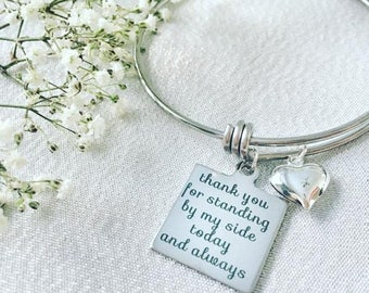 Wedding Day Bracelet - Mother of the Bride -Mother of the Groom