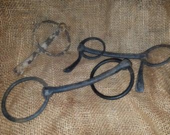 Vintage Metal Horse Bits