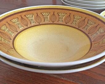 Taylor Smith Honey Gold Vegetable Serving Bowls - Set of 2