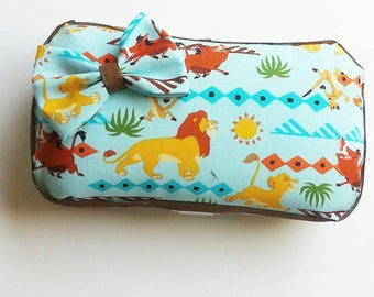 Lion King Baby Wipes Travel Case, Diaper Wipes Travel Case, Wipes Carrying Case, Diaper Bag Accessory, Lion King Nursery, Baby Shower Gift
