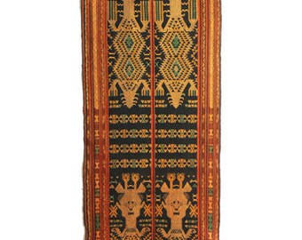 Unusual Ikat from Sumba, Indonesia