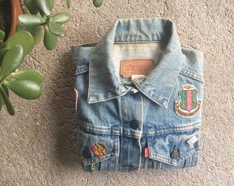 80s Vintage Levi Denim Jacket