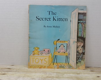 The Secret Kitten, 1972, Anne Mallett, vintage kids book