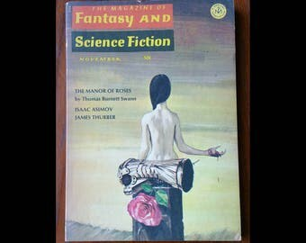 1960s magazine of fantasy and science fiction.