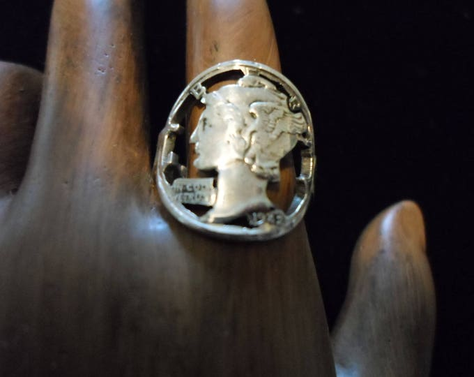 mercury dime ring