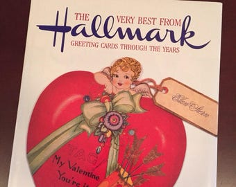The Very Best From Hallmark, Greetings Cards Through the Years Book, 1988