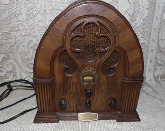 Vintage Philco-Ford Am/Fm Radio Model R90 Special Edition Baby Grand Radio USA 1972