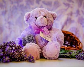 Lavender Bear - Sweetie