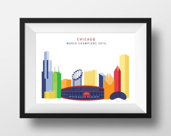 Chicago World Series Print