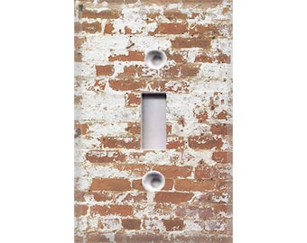 Country Rustic - Brick Light Switch Cover