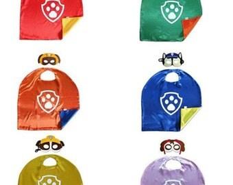 On Sale - Package of 10-15-20 Paw Patrol - Superhero Cape - Package of 10-15-20  - Cape-Birthday Cape-SuperHero Birthday Cape Skye Marshall