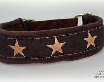 Dog collar STARS, Martingale