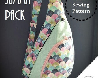 Summit Pack: DIGITAL Sewing Pattern