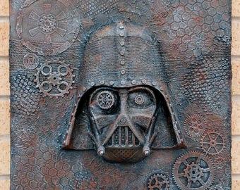 Steampunk Darth Vader 3d Star Wars Canvas Art Wall Hanging