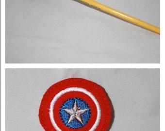 Captain America Pencil Topper
