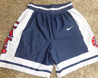 Vtg Arizona Wildcats Nike NCAA Basketball Jersey Shorts Sz Men's S