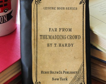 Far From the Madding Crowd Book Cover Trifold Wallet Clutch
