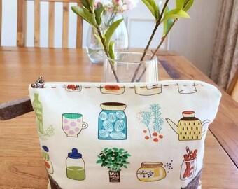 Handmade cosmetic bag/purse/pencil case/pouch