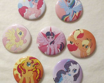 My Little Pony: Friendship is Magic Buttons