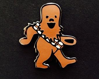Chewbacca Dancing Bear Pin