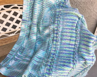 cable knit blanket cable knit throw kids blanket lap blanket - Cable Knit Throw