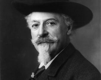 Buffalo Bill Cody, Portrait
