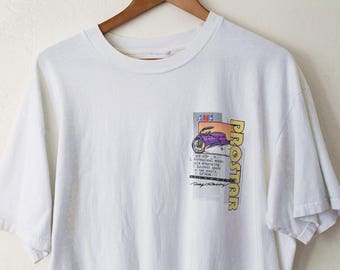 XLARGE Vintage 1990s PROSTAR (Front and Back) Graphic T-Shirt