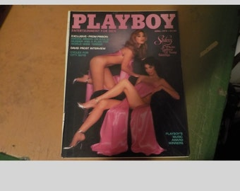 Playboy Magazine Entertainment For Men April 1978 Sisters Issue