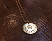 Not My President Necklace. Political Necklace. Not My President. Necklace Not My President.
