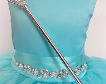 Princess rhinestone wand