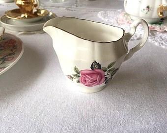 Royal Adderley Creamer, English Bone China
