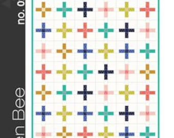 The Plus Quilt by Green Bee Designs Free Shipping in the US