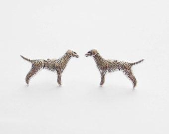Dog Earrings, Golden Retriever Earrings, Retriever Stud Earrings, Dog Jewelry, Golden Retriever Jewelry, Gifts for Dog Lovers, Dog Gifts