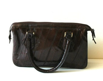 Vintage Purse With Built In Wallet Organizer By